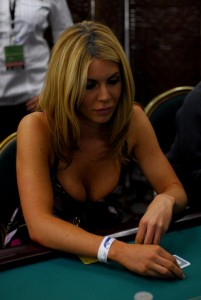 Poker Totty Christina Lindley