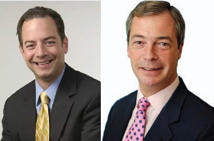Reince Prebus and Nigel Farage