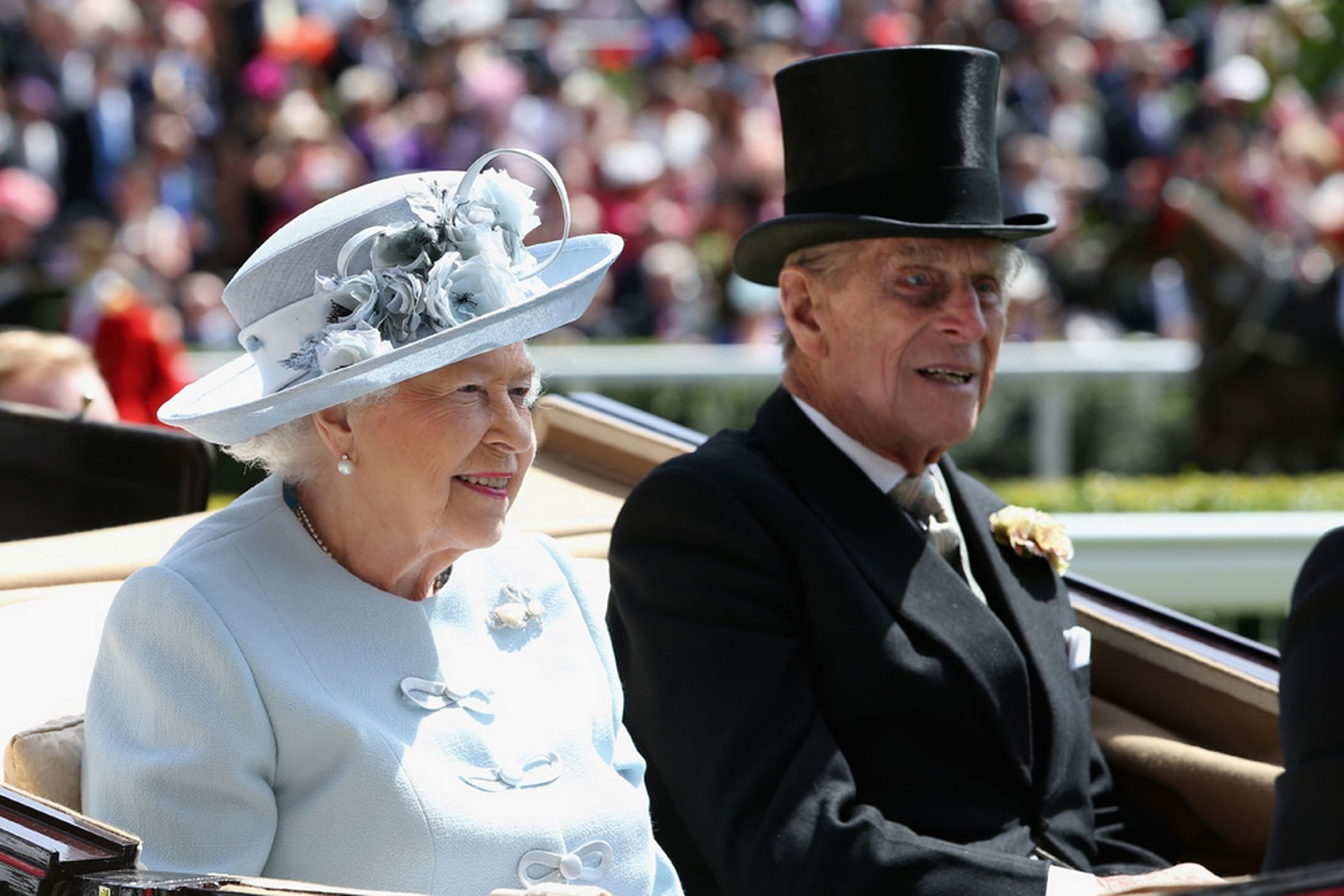Royal Ascot 2015 Queen Elixabeth and Prince Philip