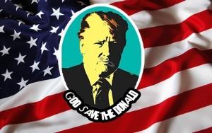 Donald Trump Punk Rocker