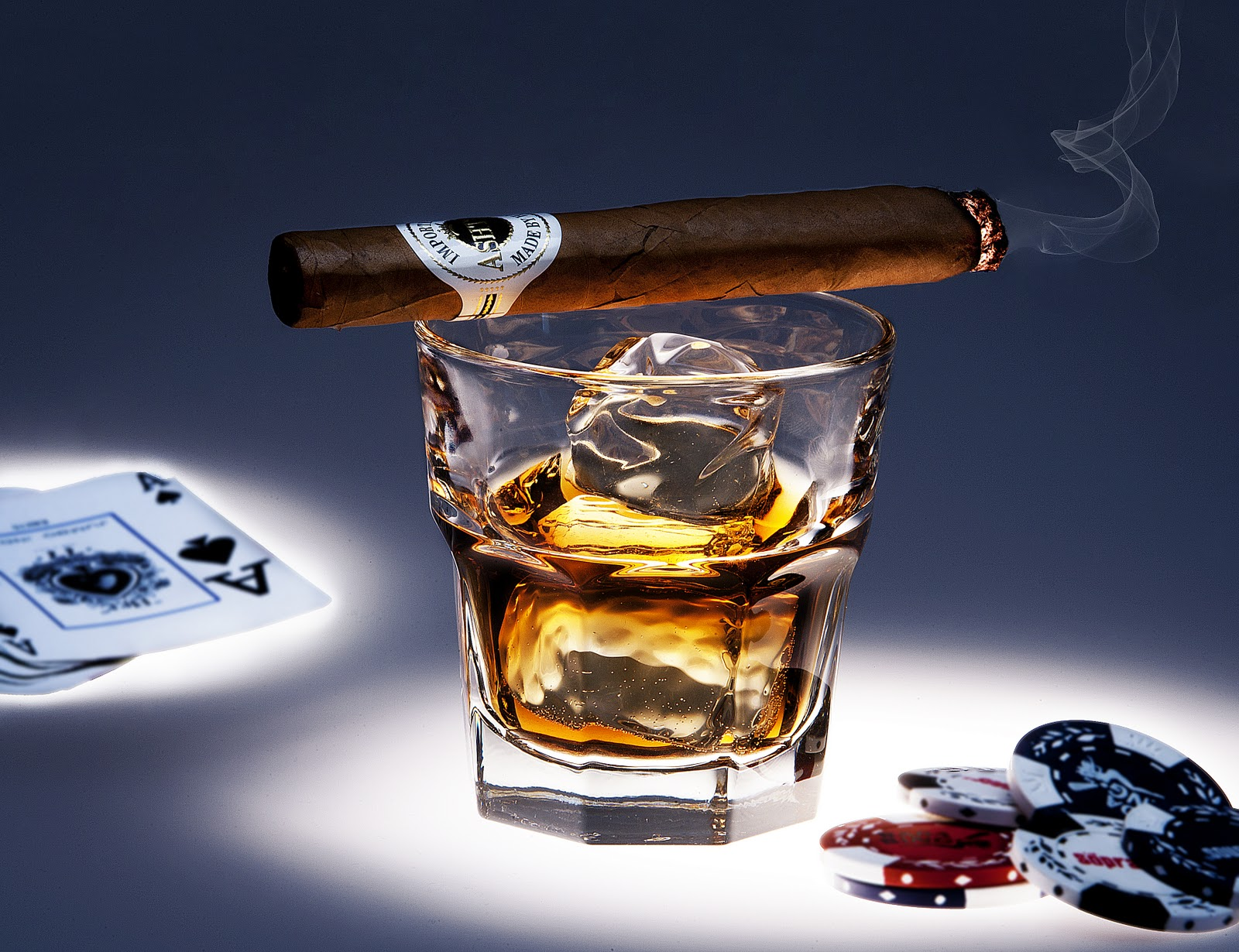 Whiskey and poker