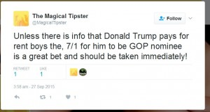 bet on donald trump