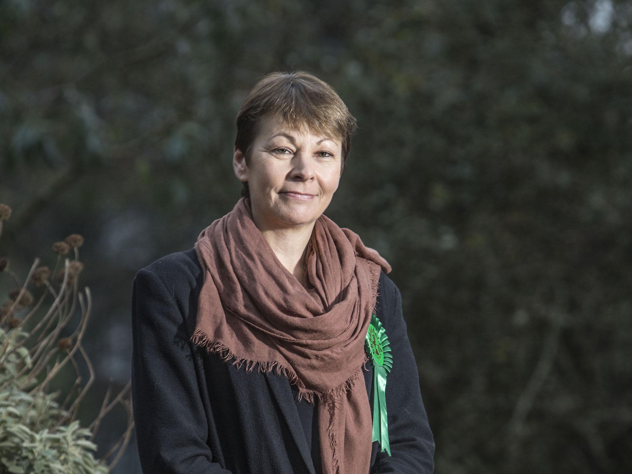 Caroline Lucas leader