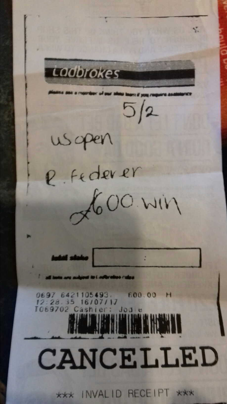 A Bet On Federer For Wimbledon