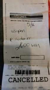 A Bet On Federer For Wimbledon