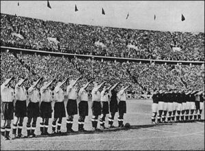 England 1938 Berlin